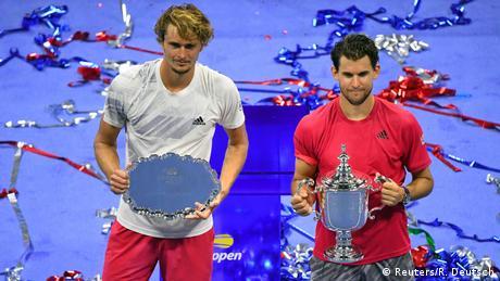 US OPEN I Tennis I Alexander Zverev - Dominic Thiem (Reuters/R. Deutsch)