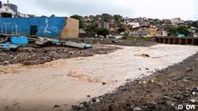 Überschwemmung Praia Kap Verde
