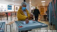 Russland Tomsk Wahlen