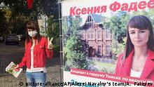 Russland Opposition Ksenia Fadeyeva