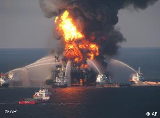 منصة استخراج النفط العائمة التي سببت أكبر كارثة نفطية في تاريخ الولايات المتحدة