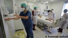 Coronavirus | Frankreich Marseille Intensivstation