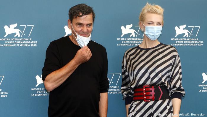 Петцольд входил в жюри основного конкурса Венецианского кинофестиваля 2020 года. На фото - с председателем жюри Кейт Бланшетт