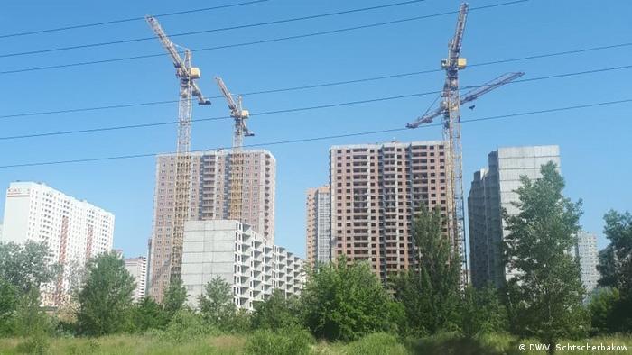 Лише у Києві - десятки недобудованих багатоповерхівок