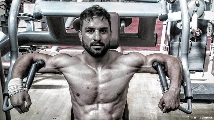 Iranian athlete Navid Afkari