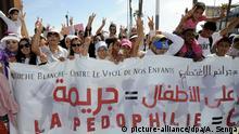 Protest in Casablanca gegen Kindesmissbrauch