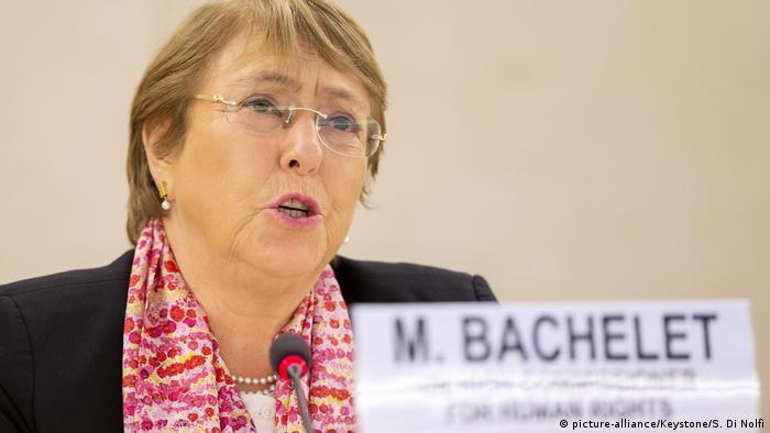 Michelle Bachelet | UN Hochkommissarin für Menschenrechte