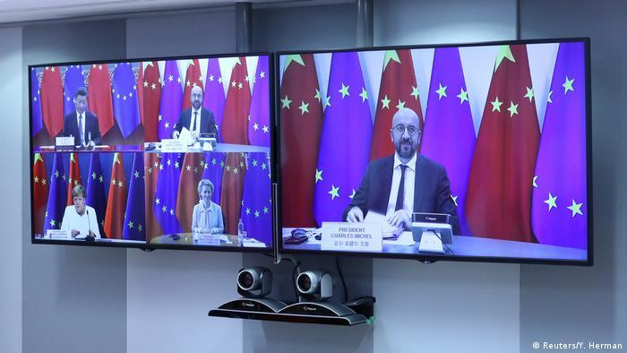 EU-China-Gipfel zu Markenschutz (Reuters/Y. Herman)