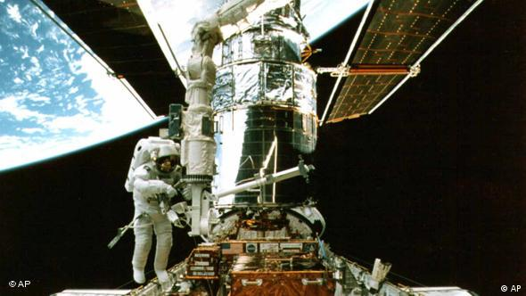 Hubble being repaired