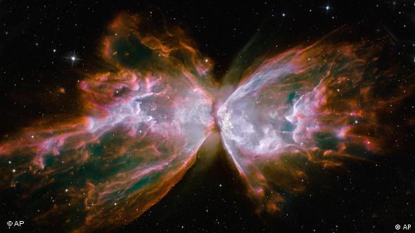 Hubble: Himmelskörper in Schmetterlingsform Flash-Galerie