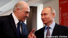 ARCHIV Sotschi Lukaschenko und Putin