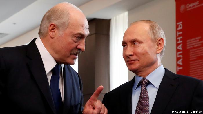 Lukašenko i Putin na Sočiju