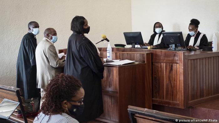 Ruanda   Paul Rusesabagina   Anklage erhoben (picture-alliance/AP Photo)