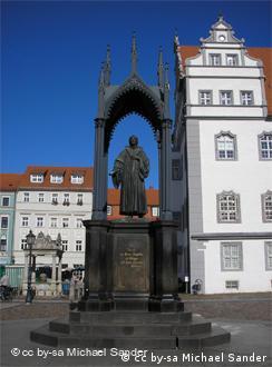 Monumento a Melanchton, em Wittenberg