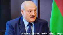 Screenshot | Russland Sotschi Treffen Putin Lukaschenko | Alexander Lukaschenko