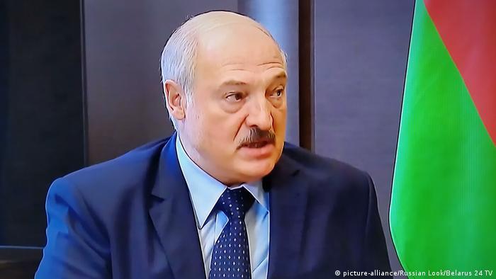 Sotschi Treffen Putin und Lukaschenko (picture-alliance/Russian Look/Belarus 24 TV)