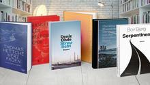 Kollage Buchcover nominierte Bücher für den deutschen Buchpreis 2020