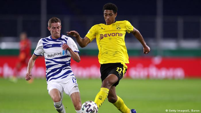 Fußball | DFB Pokal | MSV Duisburg - Borussia Dortmund | Jude Bellingham