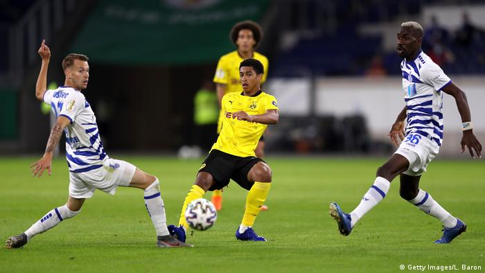Fußball | DFB Pokal | MSV Duisburg - Borussia Dortmund (Getty Images/L. Baron)