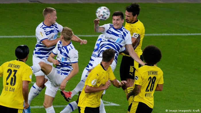 Fußball | DFB Pokal | MSV Duisburg - Borussia Dortmund
