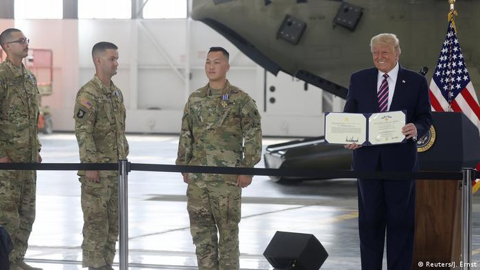 USA US-Präsident Donald Trump (Reuters/J. Ernst)