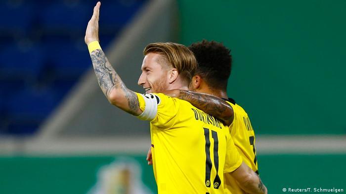 Fußball   DFB Pokal   MSV Duisburg - Borussia Dortmund   Marco Reus