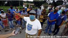 Venezuela Protest wegen Benzinknappheit