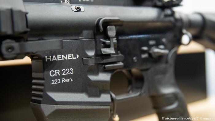 """""""Henel"""" je takvu pušku isporučio policiji Hamburga, ali je tu bilo """"tehničkih problema"""" koji su navodno savladani"""