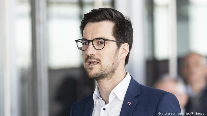 Deutschland Oberbürgermeister von Freiburg Martin Horn (picture-alliance/dpa/P. Seeger)