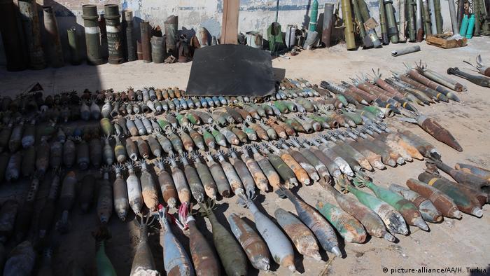 Libyen Munition Militär