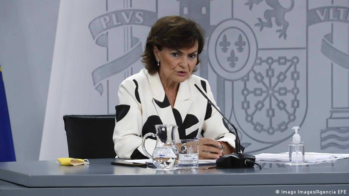 Spanien Madrid | Carmen Calvo, Vizepräsidentin