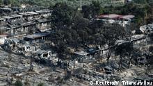 Griechenland Nach Brand im Flüchtlingslager Moria (Reuters/V. Triandafyllou)