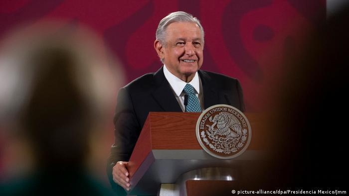 Mexiko Präsident Andres Manuel Lopez Obrador