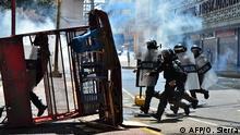 Honduras Proteste zum Unabhängigkeitstag