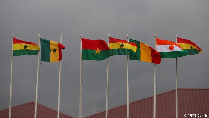 Ghana ECOWAS | Flaggen
