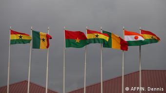 Ghana ECOWAS   Flaggen
