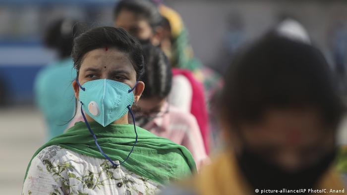 Indien Coronavirus (picture-alliance/AP Photo/C. Anand)