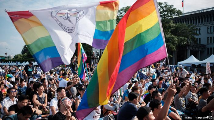 Taiwan was the first Asian country to legalize same-sex marriage