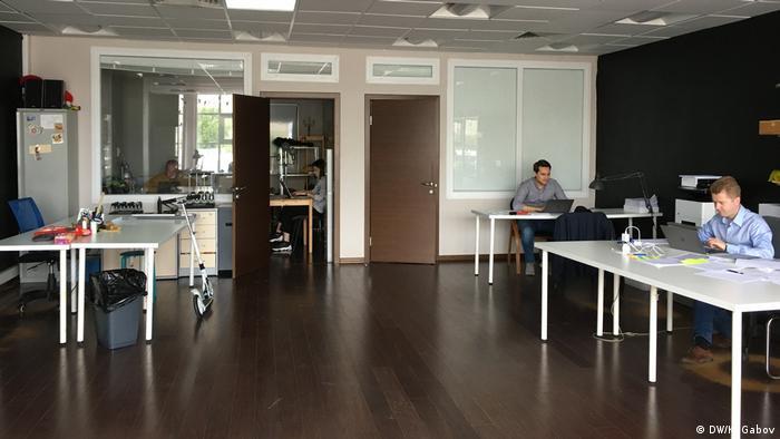 Сотрудники ФБК в офисе в Москве