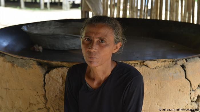 Moradora da Resex Guariba-Roosevelt, Raimunda Rodrigues da Silva