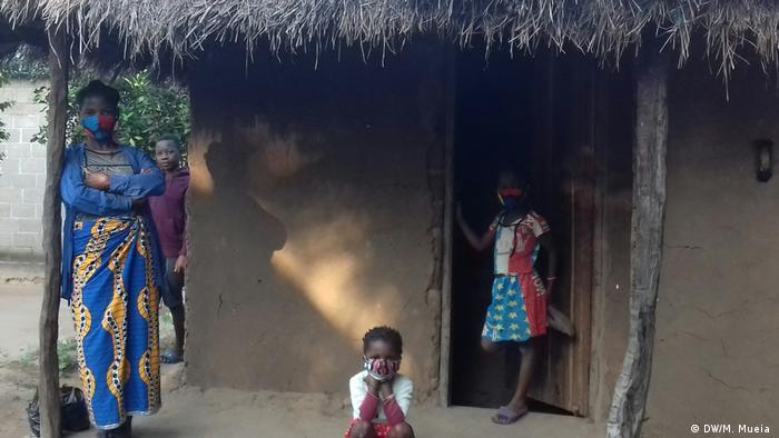 Mosambik Cabo Delgado   Provinz Sambézia   Binnenvertriebene