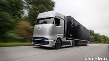Deutschland | Pressebilder Mercedes Truck | Brennstoffzelle