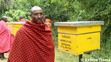 EcoAfrica - Kenya's Maasai embrace bee farming