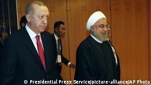 Malaysia Islamische Konferenz | Recep Tayyip Erdogan und Hassan Rouhani