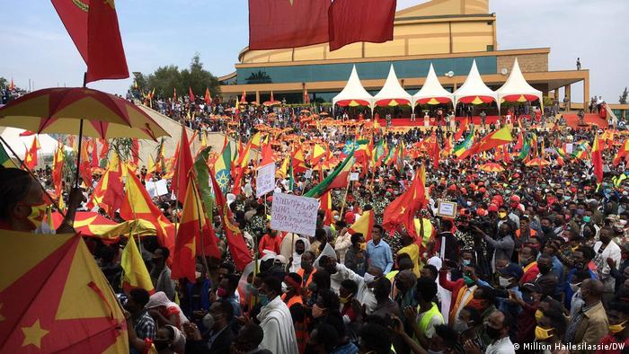 Äthiopien Addis Ababa | TPLF Marsch nach Wahlsieg