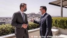 Griechenland Athen | Treffen | Mitsotakis und Zaev