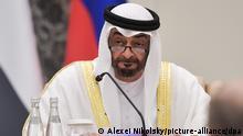 Vereinigte Emirate Abu Dhabi | Besuch Putin | Mohammed bin Zayed Al Nahyan