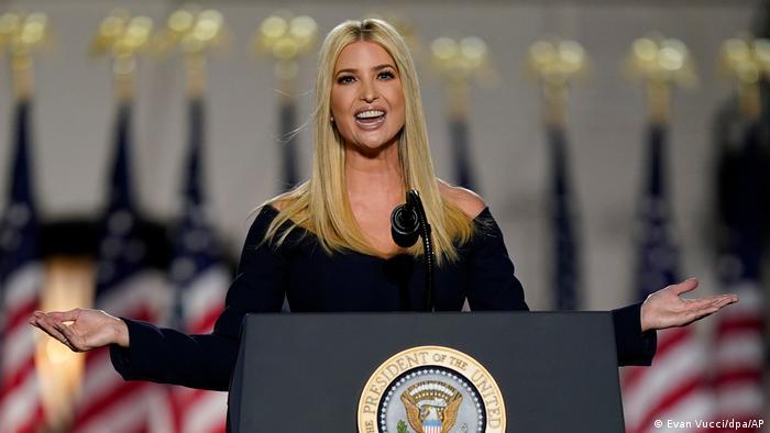 Parteitag der Republikaner in den USA - Ivanka Trump (Evan Vucci/dpa/AP)