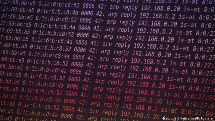 Symbolbild Hackerangriff I Cybercrime