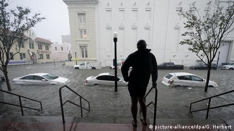 USA: Auswirkungen durch Hurricane Sally (picture-alliance/dpa/G. Herbert)